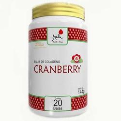 Balas de Colágeno Cranberry 20 unidades - 14585 - Fitoflora Produtos Naturais