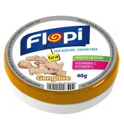 Bala Flopi de Gengibre 40g - 12626 - Fitoflora Produtos Naturais