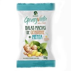 Bala Macia Gengibre Menta 50g - 16154 - Fitoflora Produtos Naturais