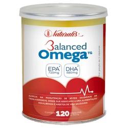 Balanced Omega Óleo de Peixe 120 caps x 1000mg - 1... - Fitoflora Produtos Naturais