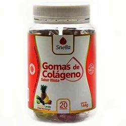 Gomas de Colágeno Misto 20 unidades - 14580 - Fitoflora Produtos Naturais