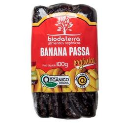 Banana Passa Orgânica 100g - 17928 - Fitoflora Produtos Naturais