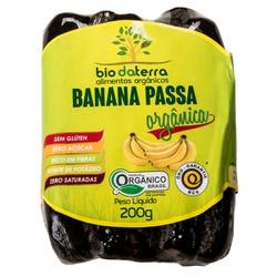 Banana Passa Orgânica 200g - 17929 - Fitoflora Produtos Naturais