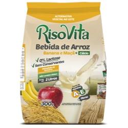 Bebida de Arroz Em Pó Banana e Maçã 300g - 15504 - Fitoflora Produtos Naturais