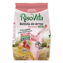 Bebida de Arroz em Pó Morango e Cálcio 300g - 1587... - Fitoflora Produtos Naturais