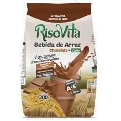 Bebida de Arroz em Pó Chocolate e Cálcio 300g - 15... - Fitoflora Produtos Naturais