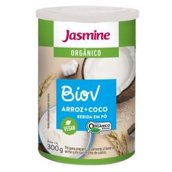 BioV em Pó Arroz + Coco Orgânico Vegan 300g - 1784... - Fitoflora Produtos Naturais