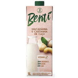 Bebida de Macadâmia e Castanha de Caju Veg 1 Litro... - Fitoflora Produtos Naturais