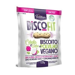 Biscoito Biscofit Snack Vegano Cebola e Salsa 25g ... - Fitoflora Produtos Naturais