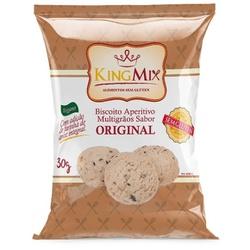 Biscoito Aperitivo Multigrãos Original 30g - 17941 - Fitoflora Produtos Naturais