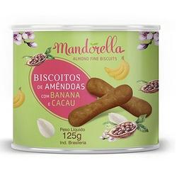 Biscoito de Amêndoas com Banana e Cacau Mandorella... - Fitoflora Produtos Naturais