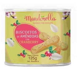 Biscoito de Amêndoas e Cranberry Mandorella 125g -... - Fitoflora Produtos Naturais
