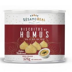 Biscoito de Homus Tradicional Vegano 125g - 17164 - Fitoflora Produtos Naturais