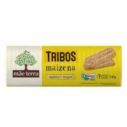 Biscoito Maizena Orgânico e Integral Tribos 145g -... - Fitoflora Produtos Naturais