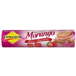 Biscoito Recheado Morango Zero Açúcares Sem Lactos... - Fitoflora Produtos Naturais