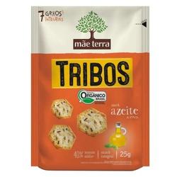 Biscoito Tribos Orgânico Azeite e Ervas Display 7x... - Fitoflora Produtos Naturais