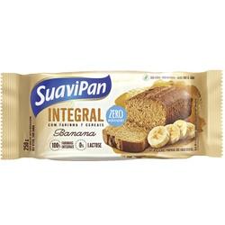 Bolo Integral de Banana Zero Açúcar 250g - 15325 - Fitoflora Produtos Naturais