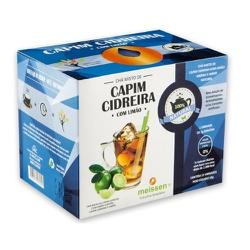 Chá de Capim Cidreira com Limão display 15x1g - 15... - Fitoflora Produtos Naturais