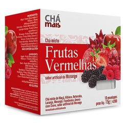 Chá Misto Frutas Vermelhas Sabor Morango Sachê 10 ... - Fitoflora Produtos Naturais