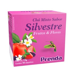 Chá Misto Silvestre 10sachês x 1,7g - 4342 - Fitoflora Produtos Naturais