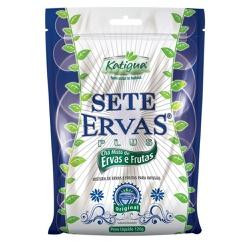Sete Ervas Chá Misto de Ervas e Frutas 120g - 1616... - Fitoflora Produtos Naturais