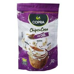 Chips de Coco com Chia Veg 60g - 17136 - Fitoflora Produtos Naturais
