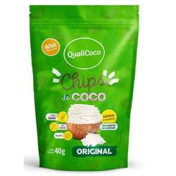 Chips de Coco Original Veg 40g - 18060 - Fitoflora Produtos Naturais