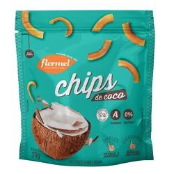 Chips de Coco Display 8 x 20g - 15181 - Fitoflora Produtos Naturais