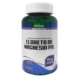 Cloreto de Magnésio P.A. 120 x 500mg - 16778 - Fitoflora Produtos Naturais