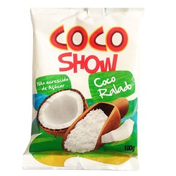 Coco Ralado Zero Coco Show 100g - 16573 - Fitoflora Produtos Naturais