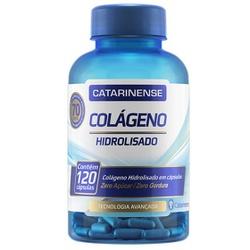 Colágeno Hidrolisado 120 Cápsulas - 17619 - Fitoflora Produtos Naturais
