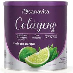 Colágeno Hidrolisado Skin Limão e Clorofila 300g -... - Fitoflora Produtos Naturais