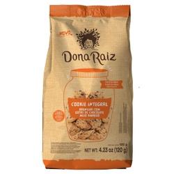Cookies Integral Baunilha Com Gotas de Chocolate Z... - Fitoflora Produtos Naturais