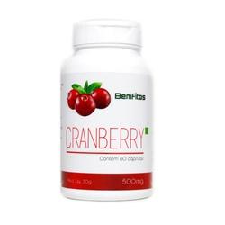 Cranberry Veg 60 cápsulas x 630mg - 16290 - Fitoflora Produtos Naturais