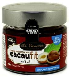 Creme de Chocolate CacauFit Avelã 160g - 14334 - Fitoflora Produtos Naturais