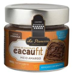 Creme de Chocolate CacauFit Meio Amargo 160g - 154... - Fitoflora Produtos Naturais