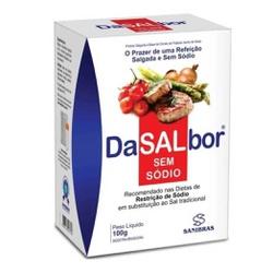 DaSalbor Sem Sódio 100g - 14733 - Fitoflora Produtos Naturais