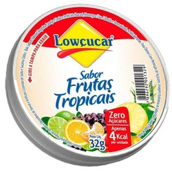 Balas Frutas Tropicais Zero 32g - 11571 - Fitoflora Produtos Naturais