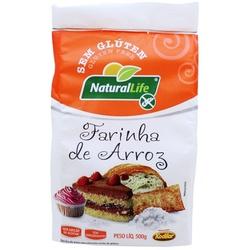 Farinha de Arroz Sem Glúten 500g - 16027 - Fitoflora Produtos Naturais