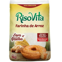 Farinha de Arroz Sem Glúten 1kg - 14063 - Fitoflora Produtos Naturais