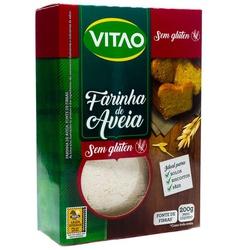 Farinha de Aveia Sem Glúten 200g - 17831 - Fitoflora Produtos Naturais