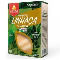 Farinha de Linhaça Dourada Orgânica 150g - 16720 - Fitoflora Produtos Naturais