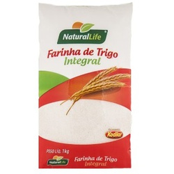Farinha de Trigo Integral 1kg - 16037 - Fitoflora Produtos Naturais