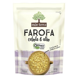 Farofa de Cebola e Alho Orgânica 200g - 17441 - Fitoflora Produtos Naturais