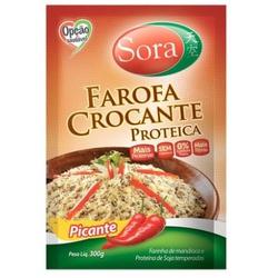 Farofa Crocante Proteica Picante 300g - 14681 - Fitoflora Produtos Naturais