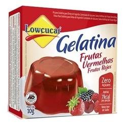 Gelatina Frutas Vermelhas Zero 10g - 15531 - Fitoflora Produtos Naturais