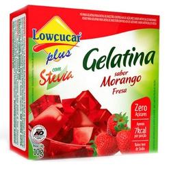 Gelatina Morango Com Stevia 10g - 11498 - Fitoflora Produtos Naturais