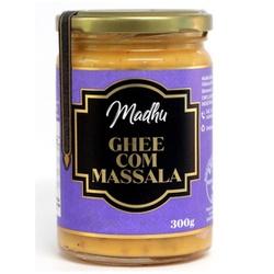 Ghee Com Massala 300g - 17800 - Fitoflora Produtos Naturais