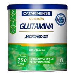 Glutamina Micronizada 250g - 17622 - Fitoflora Produtos Naturais