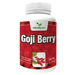 Goji Berry 60 cápsulasx500mg - 14721 - Fitoflora Produtos Naturais